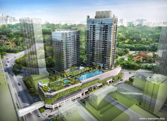 Proposed Cairnhill Development By CapitaLand